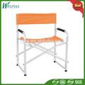 Ligero de aluminio exterior Director plegable de altura silla