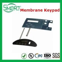 Smart Bes~Custom self adhesive printing sticker ,membrane sticker,stickers Keypads keyboard of PET/PC/PVC material Metal dome