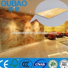 2015 new product faux stone plastic composite construction building modern house interior decoration pvc vinyl flooring