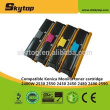 Compatible Konica Minolta copier toner cartridge KM2400 for 2400/2500 OEM code 1710587004/007/006/005