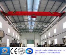 Top quality workshop used beam travelling overhead crane machine