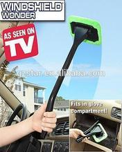 Straight shank car brush/hips and superfine fiber Automobile brush/windshield wonder as seen on tv