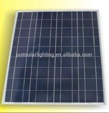 tempered glass lamination poly crystalline solar panel 18V/45-50W