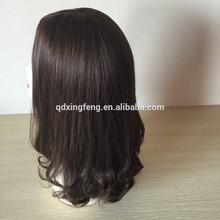 2014 China Alibaba Good quality natural looking 100% mongolia human hair wig for hair loss