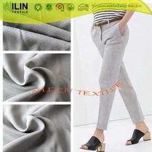 2015 Fashion style gray colour viscose fabric