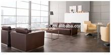 2015 modern leather lounge set suite sofa