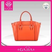 2015 China supplier fancy brand women handbag elegant fashion PU leather handbag
