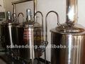 Alcohol de procesamiento de tipos y nueva condición 100L Micro de la cervecería planta