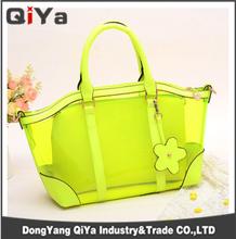 Candy Color Tote Beach Bag PVC Fashional Beach Bag Clear Beach Bag