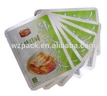 Aluminum foil high-temperature vacuum retort pouch for food packaging
