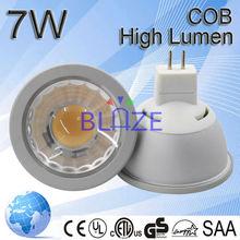 2015new led products COB led spotlight 7w MR16 led light bulb CE ROHS certificate