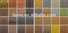 All weather outdoor/indoor resin wicker material
