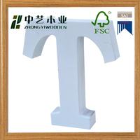 Hot sales white wooden letters wholesale