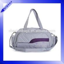 2015 polyester custom gym bag sports travel bag duffle bag