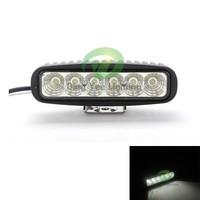 6 lamp bead 6X3 6.3'' work light 6000k 18w jeep led headlight