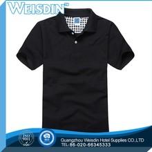 100% cotton custom korean polo shirt fashion men polo shirt black/mens striper polo shirts