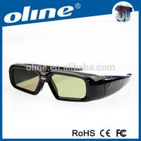 Best Quality dlp link 3d shutter glasses NX-30 lg ag-s250 3d active shutter glasses