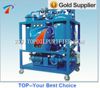 Emulsified turbine oil purification machine,on-line filtration can be carried out with turbine or water turbine