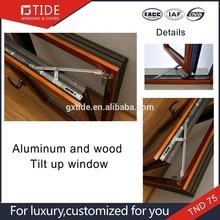 Good cheap,turn tilt layer windows aluminum and wood luxury classic window