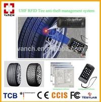 UHF RFID transportation tire anti-theft tracking protection system