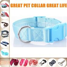 2015 Shanghai pet collar High quality pet training collar print dog collar 150114B15