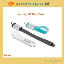 Silicon bracelet USB flash drive, keyring usb drive, promotional gifts