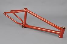 Chromoly4130 Butted cp orange frame carbon triathlon bike
