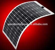 2015 high efficiency sunpower flexible solar panel bendable solar panel