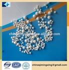 ceramic grinding media zircona beads made by yattria stabilized zirconia powder