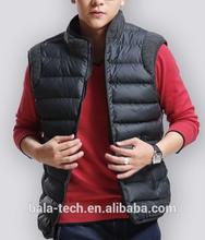 Mobile Warming Mens 4XL Black Classic Battery Heated Vest XXXXL