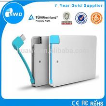 promotional gift power bank credit card slim powerbank buy from China Alibaba