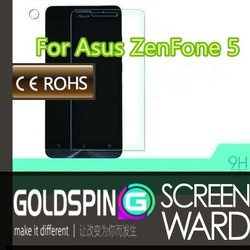GOLDSPIN tempered glass screen protector with design For ASUS ZENFONE 5