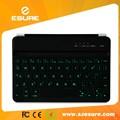 Bluetooth inalámbrico de teclado de luz de fondo para ipad mini, ipad 2 mini y mini ipad 3