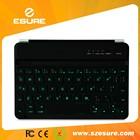 Wireless bluetooth backlight keyboard for ipad mini, ipad mini 2 and ipad mini 3