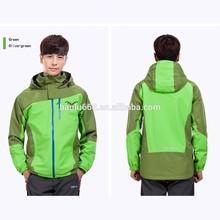 2014 OEM custom men outdoor waterproof winter jacket