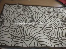 Fashion good material modern design floor soft 100% cotton rugs