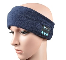 washable and foldable bluetooth headband headset / fashion knitted headbands