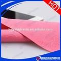 Corte reto microfibra pano de limpeza rosa Xiangyun tecido