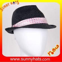 2015 new stylish visca straw fedora hat on sale