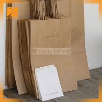New style paper bag & 2015 paper shopping bag & brown kraft gift craft paper bag