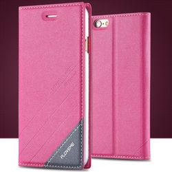FLOVEME Leather Belt Clip Holster Pouch Case, Magnetic Leather Case For iPhone 6, Flip Case For iPhone 6