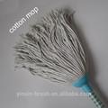mercado africano de cabeça de plástico barato rodada fios de algodão mop limpeza do chão esfregão