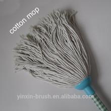 African market plastic head cheap round cotton mop yarn floor cleaning mop