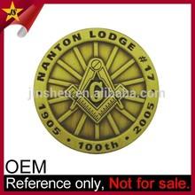 Jin Sheu Wholesale High Quality Custom Masonic Coins