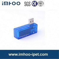 USB current and voltage meter BT-16 red led digital car truck voltmeter 24v dc battery voltage tester
