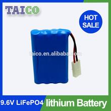 3S1P 9.6v 1400mah Li-ion Battery