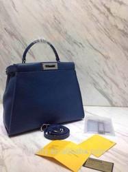 cheap designer women tote bags.big size fashion leather handbag blue 2015