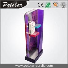 custom wholesale wall mounted rotating acrylic display cases