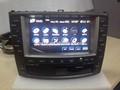 2 din car stereo rádio/dvd/gps/mp3/3g sistema multimídia para lexus is250/is300/is350 2008-2012