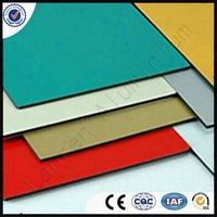 golden mirror High quality acp aluminium composite panel for kitchen cabinets